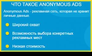 запуск рекламы в сервисе A-Ads
