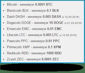 входящие платежи в Криптонаторе