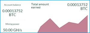 Сколько можно заработать с бонусом на Splititmining
