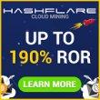HashFlare - облачный майнинг с собственным оборудованием