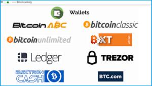 bitcoincash-кошельки с bitcoincash.org